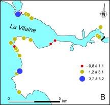 Etude de vulnérabilité estuaire de la Vilaine.