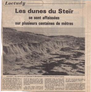 ND - Loctudy, Les dunes du Steïr